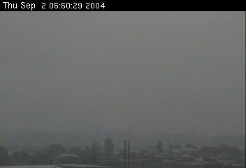 浅間山の様子2004.09.02午前5時50分