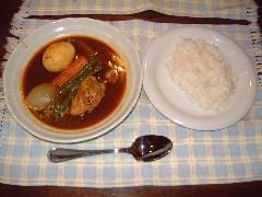 家人のスープカレー